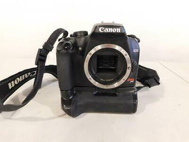 Canon Rebel XS - 10.1MP DSLR w/ Canon Grip, Batteries & Charger, Used Condition 10/10 - Paramount Camera & Repair