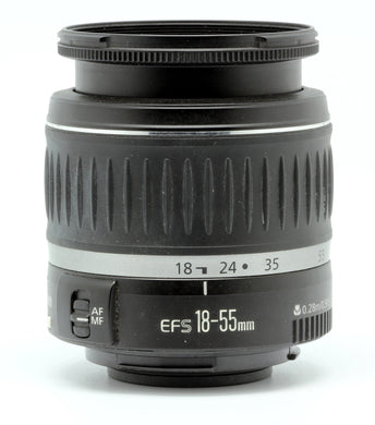 Canon EF-S 18-55mm f/3.5-5.6 lens - Used Condition 9.5/10 - Paramount Camera & Repair