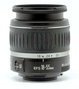 Canon EF-S 18-55mm f/3.5-5.6 lens - Used Condition 9.5/10 - Paramount Camera & Repair - Saskatoon Canada Used Cameras Used Lenses Batteries Grips Chargers Studio