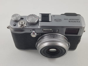 Fujifilm X100 12.3 MP APS-C CMOS EXR Digital Camera w/ 23mm Fujinon Lens- Used Condition 9/10 - Paramount Camera & Repair - Saskatoon Canada Used Cameras Used Lenses Batteries Grips Chargers Studio