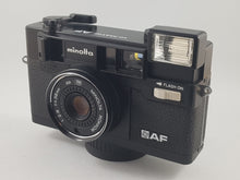 Load image into Gallery viewer, Minolta Himatic AF 35mm Point & Shoot - Paramount Camera & Repair - Saskatoon Canada Used Cameras Used Lenses Batteries Grips Chargers Studio