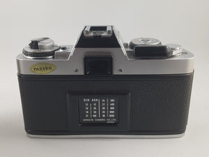 Minolta XG-M, 35mm Film Camera, Lens is not included - Paramount Camera & Repair - Saskatoon Canada Used Cameras Used Lenses Batteries Grips Chargers Studio