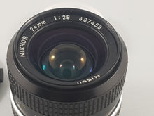 Load image into Gallery viewer, Nikkor 24mm f/2.8 AI-S Nikon Manual Film Lens - Used Condition 9.5/10 - Paramount Camera & Repair - Saskatoon Canada Used Cameras Used Lenses Batteries Grips Chargers Studio