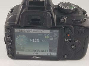 Nikon D3100 14.2MP, 1080p Video DSLR with Nikon Battery - Used Condition 9.5/10 - Paramount Camera & Repair - Saskatoon Canada Used Cameras Used Lenses Batteries Grips Chargers Studio