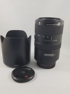 Sony 70-300mm f/4.5-5.6 SSM ED G-Series Lens - Used Condition 10/10 - Paramount Camera & Repair