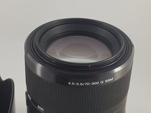Sony 70-300mm f/4.5-5.6 SSM ED G-Series Lens - Used Condition 10/10 - Paramount Camera & Repair - Saskatoon Canada Used Cameras Used Lenses Batteries Grips Chargers Studio