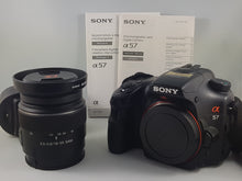 Load image into Gallery viewer, Sony Alpha A57 16.1MP Exmor APS DSLR w/18-55mm Zoom Lens- Used Condition 8/10 - Paramount Camera & Repair - Saskatoon Canada Used Cameras Used Lenses Batteries Grips Chargers Studio