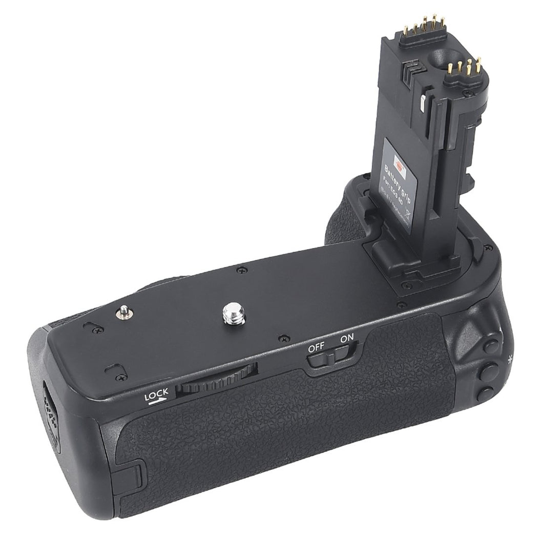 Vertical Battery Grip for Canon EOS 6D (Replaces BG-E13) - Paramount Camera & Repair - Saskatoon Canada Used Cameras Used Lenses Batteries Grips Chargers Studio
