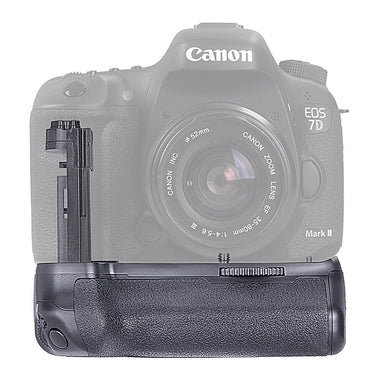 Vertical Battery Grip for Canon EOS 7D Mark II (Replaces BG-E16) - Paramount Camera & Repair - Saskatoon Canada Used Cameras Used Lenses Batteries Grips Chargers Studio