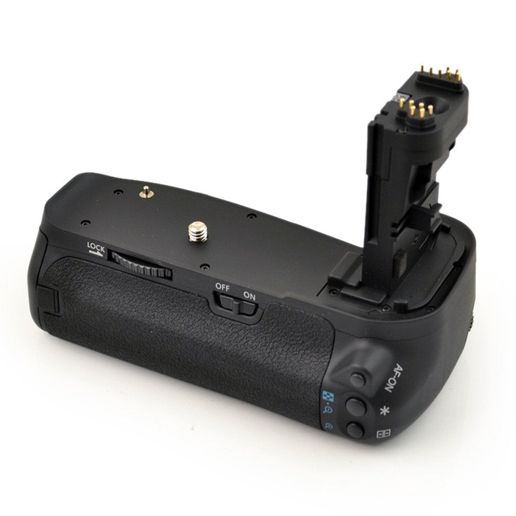 Vertical Battery Grip for Canon EOS 60D (Replaces BG-E9) - Paramount Camera & Repair - Saskatoon Canada Used Cameras Used Lenses Batteries Grips Chargers Studio