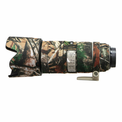 Camo Protective Lens Cover for Canon 70-200mm f/2.8L IS II- Rubberized Neoprene - Mossy Oak - Paramount Camera & Repair - Saskatoon Canada Used Cameras Used Lenses Batteries Grips Chargers Studio