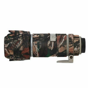Camo Protective Lens Cover for Canon 70-200mm f/2.8L IS - Rubberized Neoprene - Mossy Oak - Paramount Camera & Repair