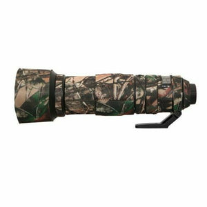 Camo Protective Lens Cover for Nikon 200-500mm f/5.6 VR - Rubberized Neoprene - Mossy Oak - Paramount Camera & Repair