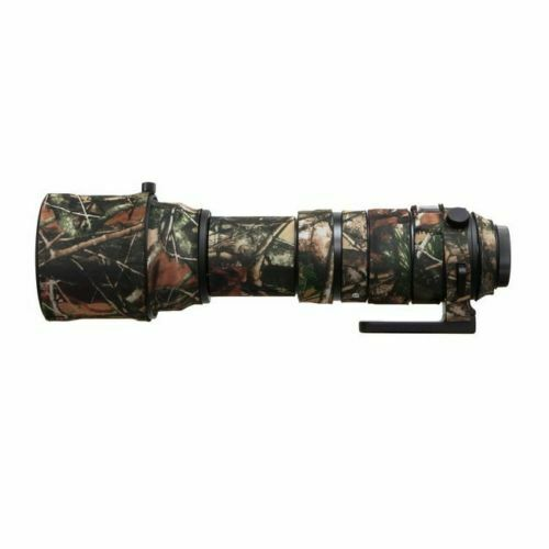 Camo Protective Lens Cover for Sigma 150-600mm Sport Version - Rubberized Neoprene - Mossy Oak - Paramount Camera & Repair
