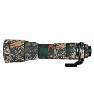 Camo Protective Lens Cover for Tamron 150-600mm SP Model A011 - Rubberized Neoprene - Mossy Oak - Paramount Camera & Repair