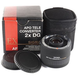 Used Sigma APO 2X Teleconverter EX DG - Nikon Mount - Rating 9.9/10 - Paramount Camera & Repair - Saskatoon Canada Used Cameras Used Lenses Batteries Grips Chargers Studio