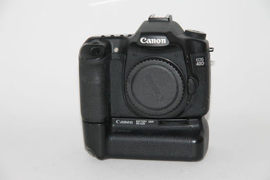 Canon EOS 40D DSLR 10.1MP Camera w/Canon Grip & 2 Batteries - Used Condition: 9.8/10 - Paramount Camera & Repair