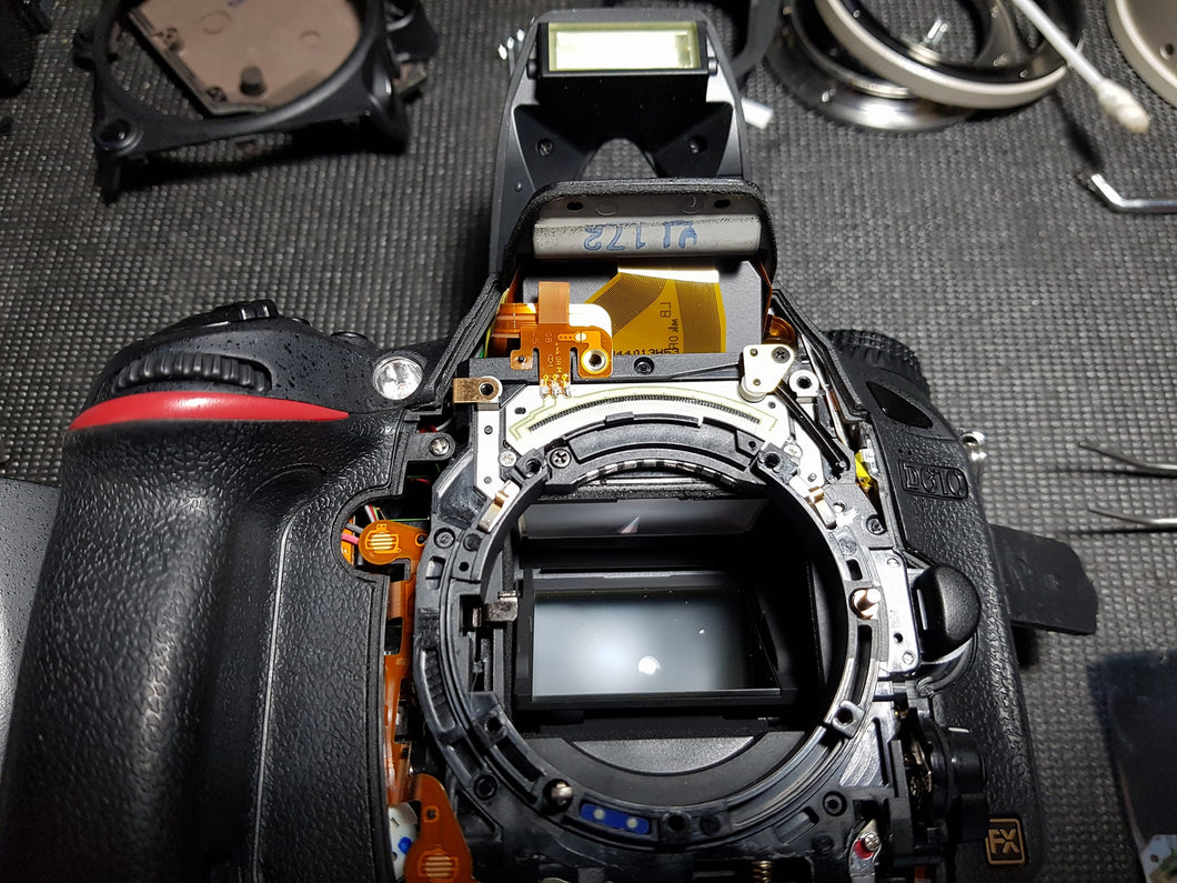 Pro Camera Body Full Service Cleaning - Paramount Camera & Repair - Saskatoon Canada Used Cameras Used Lenses Batteries Grips Chargers Studio