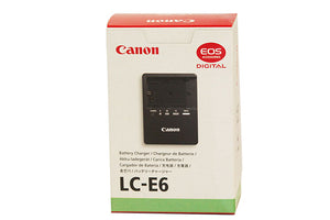 Canon LC-E6/E6E Charger for Canon LP-E6 Lithium Camera Batteries - Paramount Camera & Repair - Saskatoon Canada Used Cameras Used Lenses Batteries Grips Chargers Studio