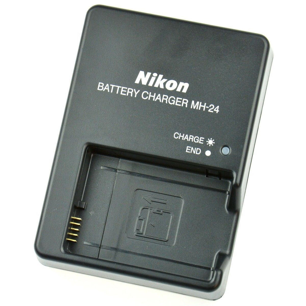 Nikon MH-24 Quick Battery Charger for Nikon EL-EL14 Battery - Paramount Camera & Repair - Saskatoon Canada Used Cameras Used Lenses Batteries Grips Chargers Studio