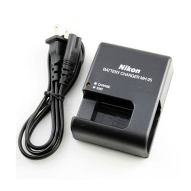 Nikon MH-25 Quick Battery Charger for Nikon EN-EL15/EN-EL15a Battery - Paramount Camera & Repair - Saskatoon Canada Used Cameras Used Lenses Batteries Grips Chargers Studio