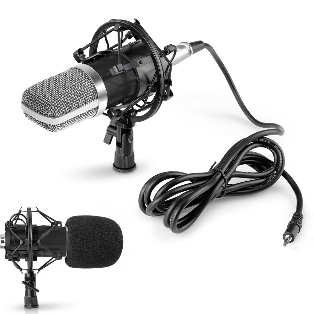 NW-700 Professional Condensor Microphone - for Video/Podcasting - Includes antivibration Mount & Wind Cover - Paramount Camera & Repair - Saskatoon Canada Used Cameras Used Lenses Batteries Grips Chargers Studio