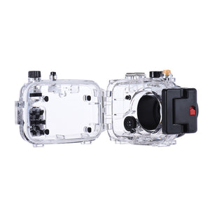 Underwater Dive Housing for Sony RX100 II - Rated to 40m/130ft - Paramount Camera & Repair - Saskatoon Canada Used Cameras Used Lenses Batteries Grips Chargers Studio