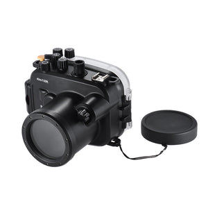 Underwater Dive Housing for the Sony A7 & Sony A7R - Rated to 40M/130ft - Paramount Camera & Repair - Saskatoon Canada Used Cameras Used Lenses Batteries Grips Chargers Studio