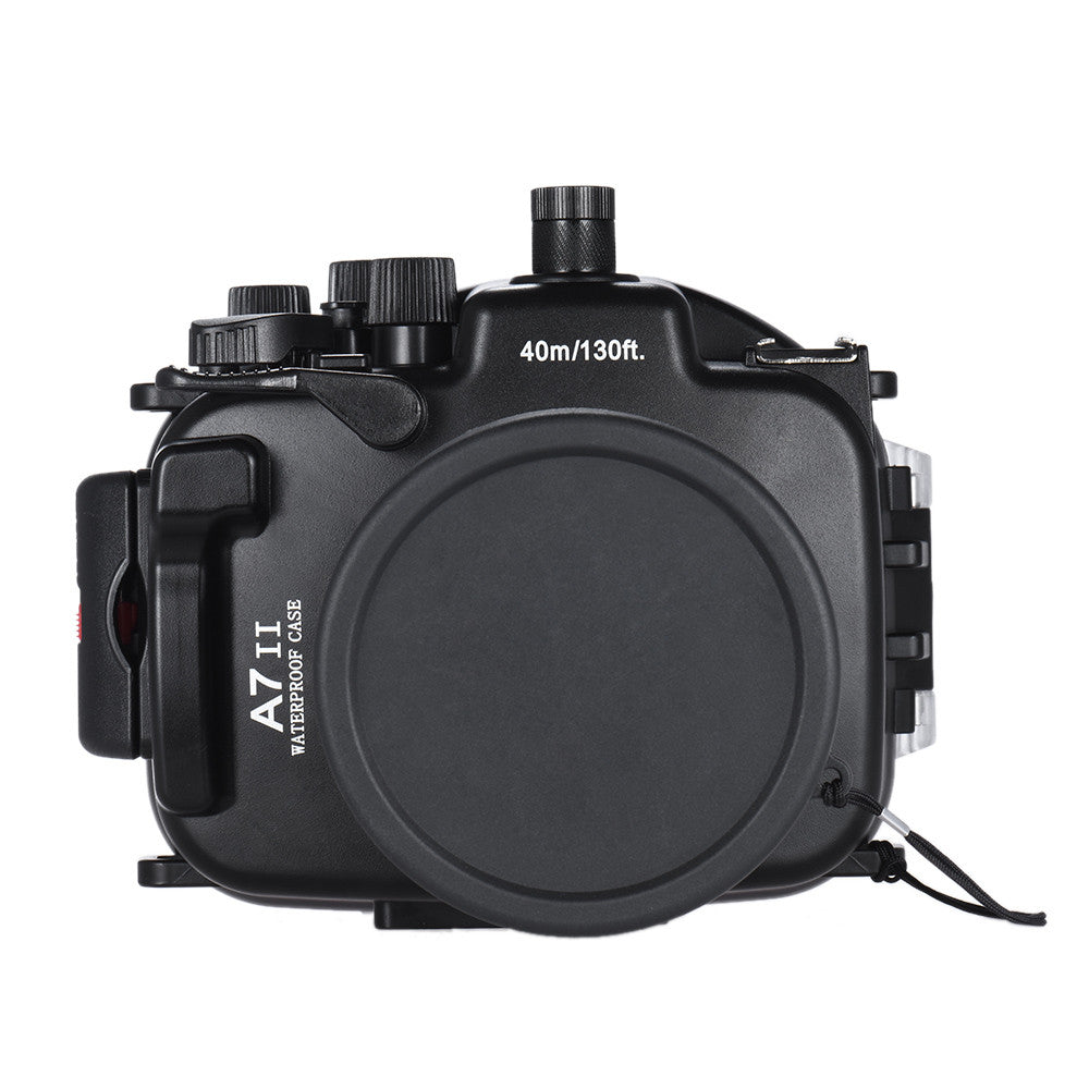 Underwater Dive Housing Case for the Sony A7II with Interchangeable Port - Rated to 40m/130ft - Paramount Camera & Repair