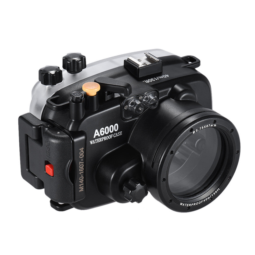 Underwater Dive Housing for the Sony A6000 - Rated to 40M/130ft - Paramount Camera & Repair - Saskatoon Canada Used Cameras Used Lenses Batteries Grips Chargers Studio