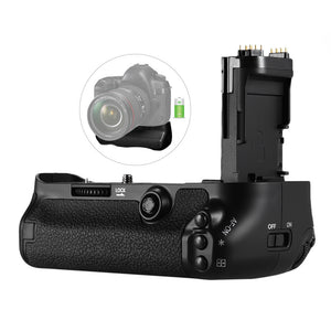 Vertical Battery Grip for Canon EOS 5D Mark IV (Replacement for BG-E20) - Paramount Camera & Repair - Saskatoon Canada Used Cameras Used Lenses Batteries Grips Chargers Studio