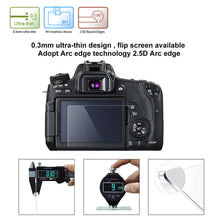 Load image into Gallery viewer, Tempered Glass Camera LCD Screen Protector - Self Adhesive - Touchscreen Compatible - Paramount Camera & Repair