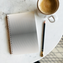 Load image into Gallery viewer, Optic Stripe Eco-friendly Journal