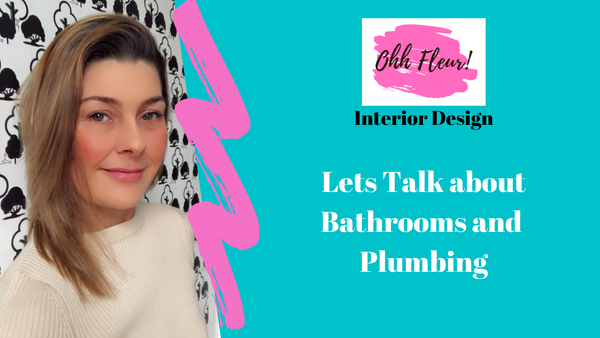 Fleur friday vlog about bathrooms and plumbing for international plumbing day