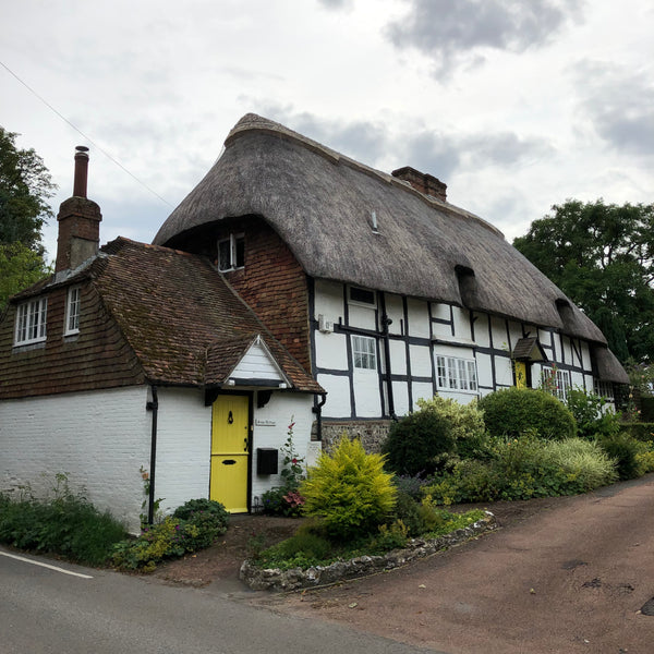 gorgeous English thatched house