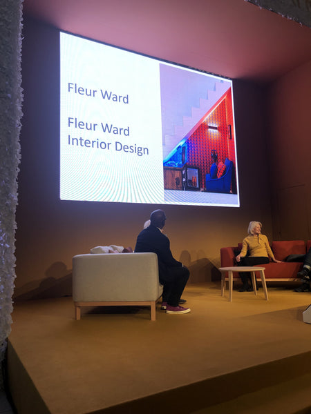 fleur ward interior design at Grand Designs Live 2019 under the stairs project