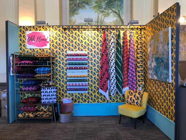 ohh fleur at 100% design kensington olympia designer wallpaper and fabrics