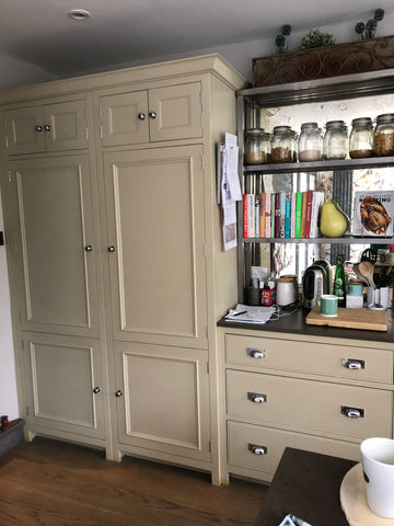 cream Kitchen pantry