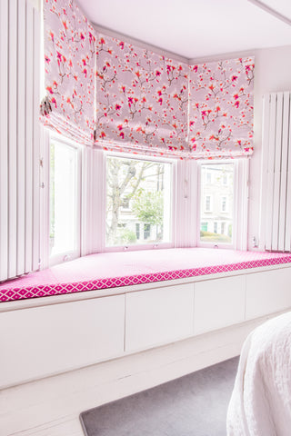 girls room design and decor joinery in window and designer radiators