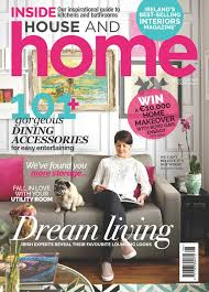 fleur ward on the cover of house to home