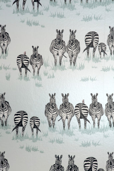 Juliet travers zebra wallpaper
