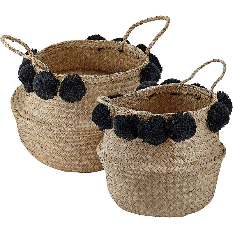 Basket Case - pom pom baskets