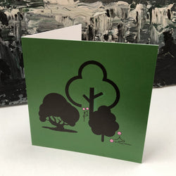 Greeting Card - Tree Tryst