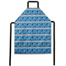 Apron in Band Aide Blue
