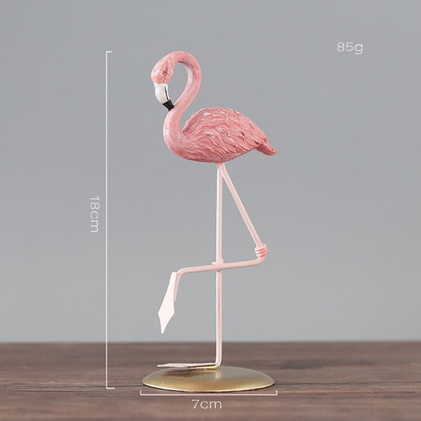 Pink Flamingo Ornaments