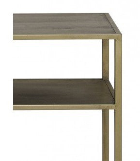 Antique Gold Console Table