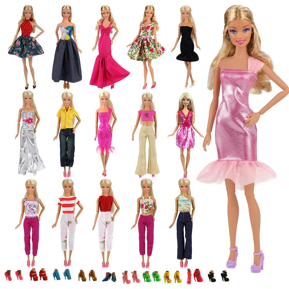 №317 Clothes for Barbie Doll Blouse and Leggings for Dolls.