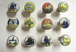 Ceramic Zodiac Knobs