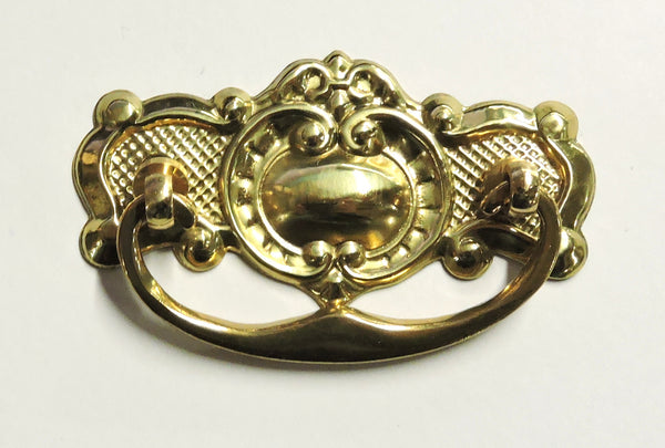 brass cabinet handle heritage drawer pull traditional hardware