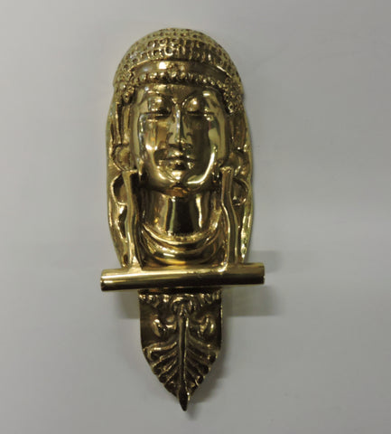 Brass Door Knocker - Lady